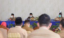 Gelar rapat Staff bersama Kepala OPD dan Camat, ini kata Bupati dan Wakil Bupati Siak.